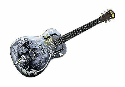 Mark Knopfler's National Style O resonator guitar POSTER PRINT A1 Size