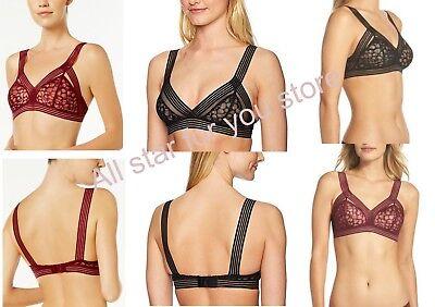 Calvin Klein Bra Vixen Striped-Strap Lace Bra QF3985  XS, S, M, L, XL