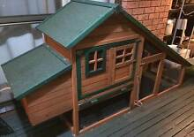 Fantastic Large CHALET -Rabbit-Chickens-(GUINEA PIGS-AVAI $10 ea) Green Point Gosford Area Preview