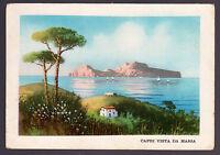 Napoli Capri Cartolina Vista Da Massa Fg N - Carcavallo Ill. Fusco ? -  - ebay.it