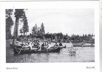 * Postkarte die Spiegel Teich