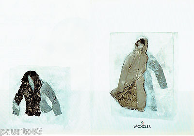 Publicite advertising 016  2003  moncler   doudoune anorak (2p)