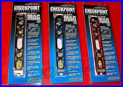 Checkpoint 300 Ultra Mag G3 8 5 Inch 4 Vial Magnetic Torpedo Level Choose Color