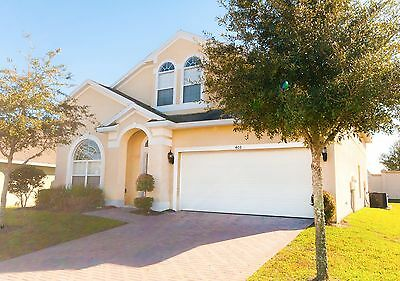 408 Disney area vacation rentals 5 bed home with pool and spa Orlando 2 weeks