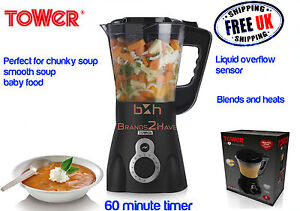 Tower-Homemade-Soup-Maker-1-5-L-Blender-Chunky-Smooth-Baby-Food-Puree-Cooker