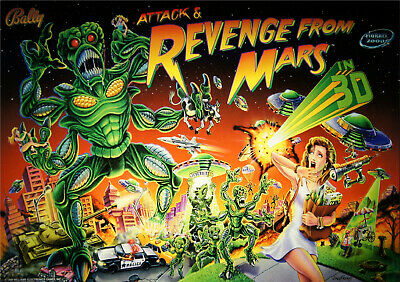 REVENGE from MARS Pinball LED Lighting Kit custom SUPER BRIGHT KIT