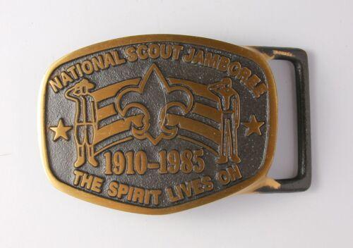 1985 National Scout Jamboree Max Silber Belt Buckle