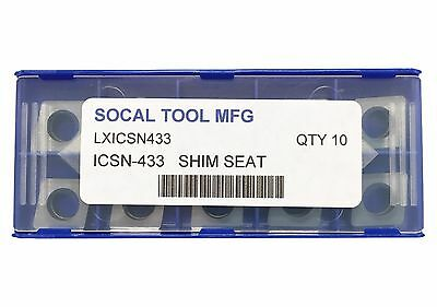 Icsn-433 Mcn-433 Carbide Shim Seat For 80 Degree Diamond Insert Cnmg 10pcs