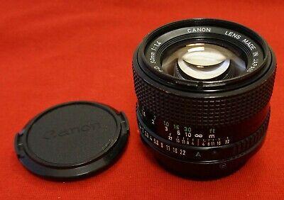 Canon New FD 50mm f/1.4  manual focus lens.   Sony, Olympus, Panasonic