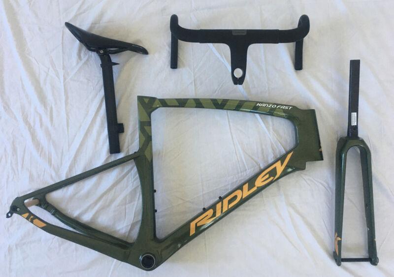 NEW Ridley Kanzo Fast Carbon FrameSet Gravel Bike 52CM Medium 700c