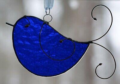 Stained Glass Little Bluebird Sun Catcher Bluebird Stained Glass Suncatcher