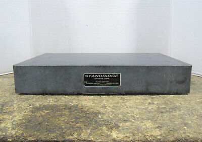 Standridge Granite Corp 12 X 18 X 3 0 Ledge Heavy Duty Granite Surface Plate