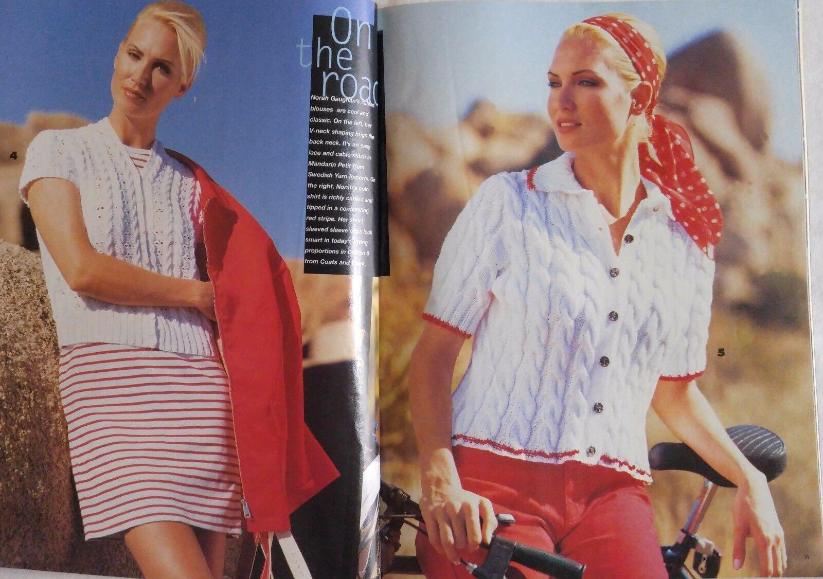 Vogue Knitting Pattern Magazine SPRING SUMMER 1996 Women Girls Boys ...