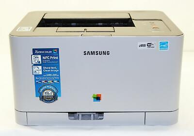 Samsung SL-C410W/XAA Xpress 19PPM Wireless Color Laser Printer -