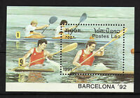 Laos : 1991 Olympic Games Barcelona 92 ( Complete Set ) Mnh - complete - ebay.es