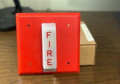 Nib New Vintage Honeywell Wheelock Sc807b1001 Fire Alarm Remote Strobe Red