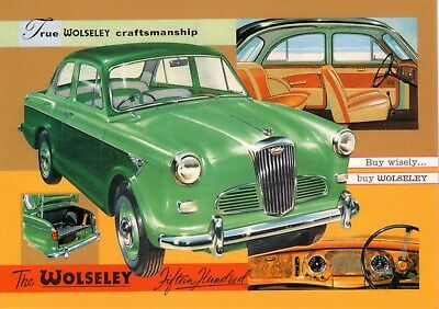 Wolseley 1500 1957 Car Jumbo Fridge Magnet