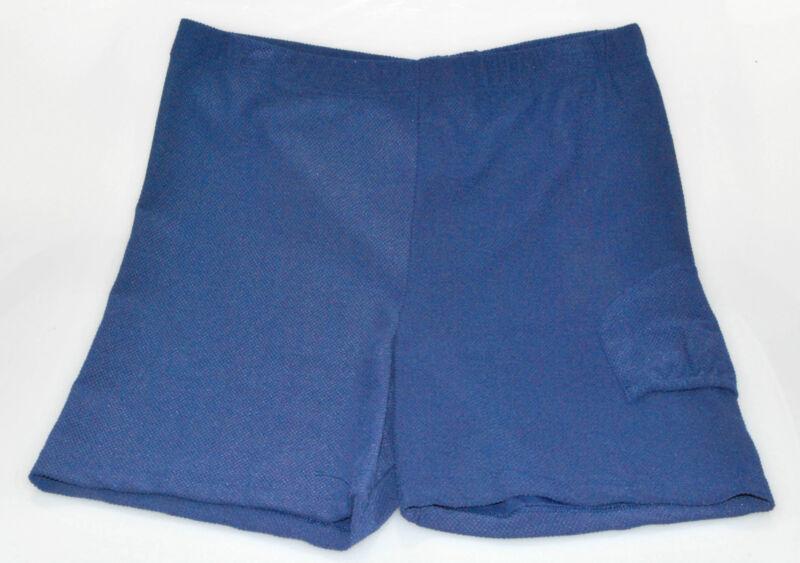 Fancy Pants Tennis Bike Short Panties  STRETCH/Lycra (Ball Pocket) Nav, Red, Blk