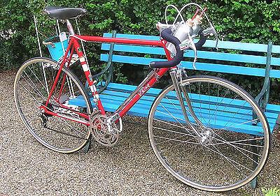 Viking road bike vintage  1950s repainted 58.5 cms Simplex Campag Milremo *