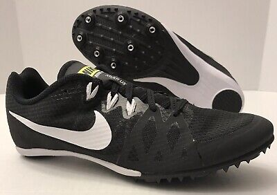 best cheap 840be 93318 NIKE Zoom Rival MD 8 Track Spikes 806555-017 Black White (MEN S 10.5)  NO  BOX