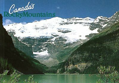 Canada  -  Banff National Park - Lake Louise with the dazzling Victoria Glacier  ()
