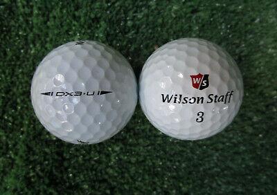 25 Wilson Dx3 URETHANE Golfbälle AAAA - AAA