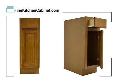 All Wood RTA Country Oak Base Cabinet B15 Ready To Assemble Kitchen Cabinet