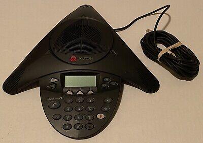 Rare Polycom Soundstation2 Expandable Analog Conference Phone 2201-16200-601