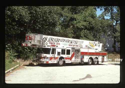 Newton NJ T804 1992 Grumman Aerialcat Tower Fire Apparatus slide