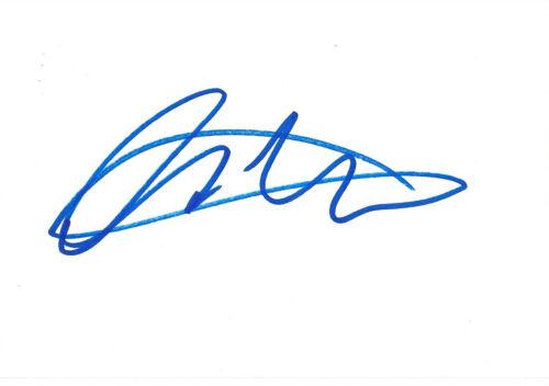 Luke Evans Autogramm signed 10x15 cm Karteikarte