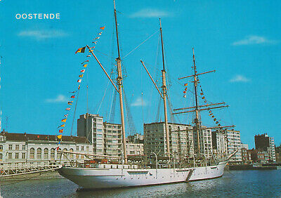 OOSTENDE  OSTENDE   MERCATOR  .   CARTE POSTALE COULEUR   1976
