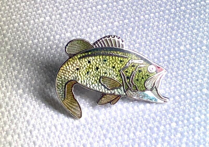 Bass Fish Lapel Pin
