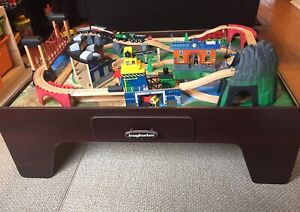 Imaginarium Mountain Rock Train Table