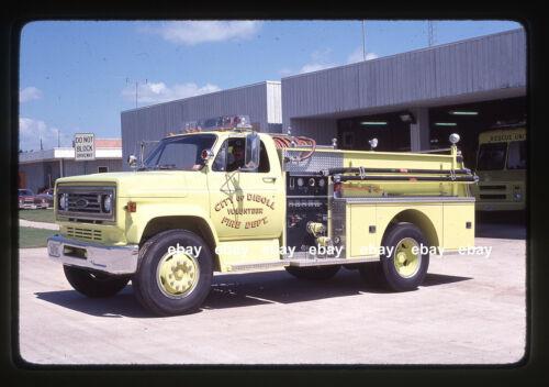 Diboll TX 1978 Chevrolet Pierce pumper Fire Apparatus Slide
