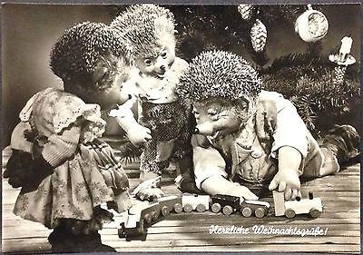 alte Mecky,Mecki Ansichtskarte 1959,Diehl Film Nr.109,Herzliche Weihnachsgrüße