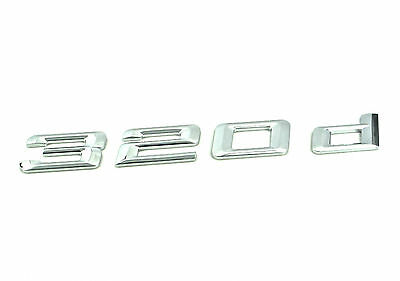Kyпить Genuine New BMW 320d REAR BADGE Boot Emblem 3 Series E90 Saloon 2005-2011 320 d на еВаy.соm