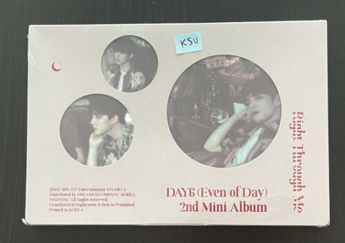 DAY6 Even Of Day - Right Through Me (Sealed)