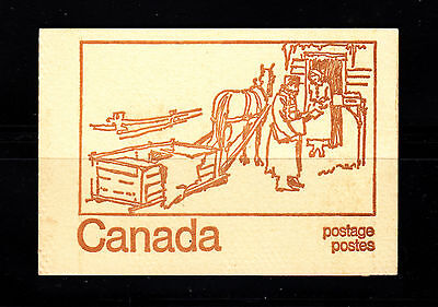CANADA 544a BOOKLET PANE OF 6  PLUS LABEL 1971 MNH OG  C502