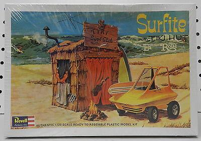 SURFITE ED ROTH BIG DADDY TIKI HUT SURF CLUB SHOW CAR F/S REVELL MODEL KIT (Tiki Hut Kits)