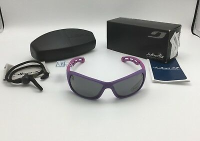 Julbo Swell Women's Plum/Pink Sunglasses, Polarized 3+ Gray Mirror Lens J4419126