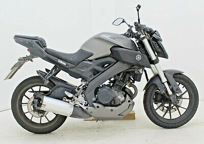 2015 YAMAHA MT 125 ABS DAMAGED SPARES OR REPAIR ***NO RESERVE*** (24849)