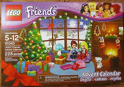 Lego 41040 Friends Advent Calendar   2014   228 Pcs   24 Gifts