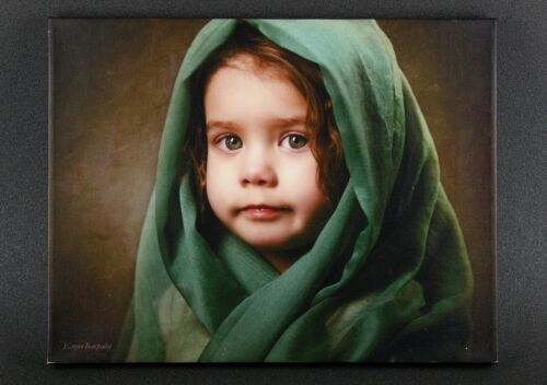 Picture Reproduction painting  Portrait Girl Little Madonna Polygraph printing