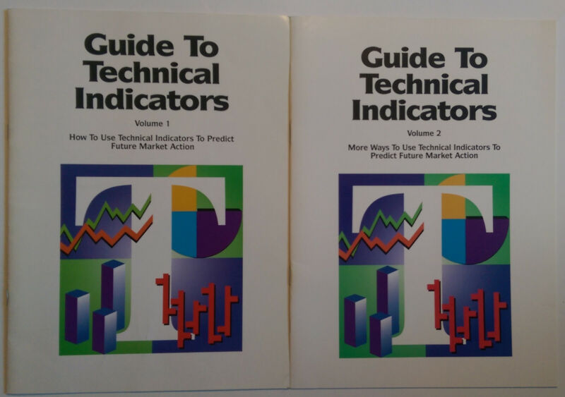GUIDE TO TECHNICAL INDICATORS  Vol 1 and 2 EXCELLENT  For futures trading market