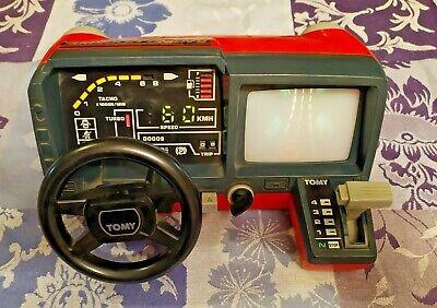 Vintage Tomy Racing Turbo Cockpit Porsche Carrera - Très Bon État