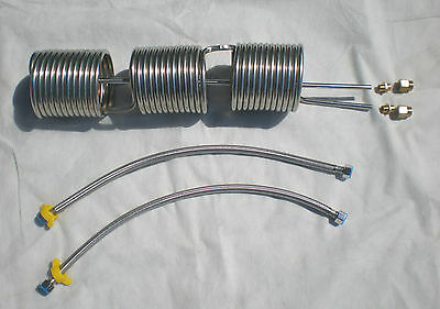 Stainless Coil Hot Water Or Multi-useend Inoutbraided Hoses 5004095