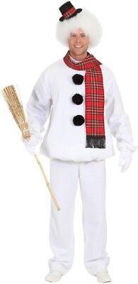 Mens Cute Snowman TV Film Christmas Xmas Winter Fun Fancy Dress Costume Outfit - Cute Mens Costumes