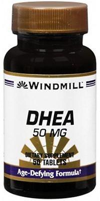 Windmill DHEA 50 mg comprimidos 50 comprimidos (Pack de 5)