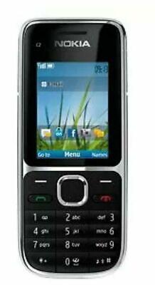 Nokia C2-01 - Black (Unlocked) Mobile Phone UK seller free P&P