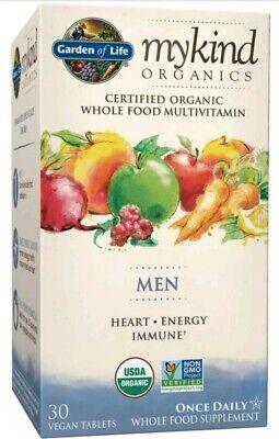 Garden Of Life Mykind Organics Men One A Day Multivitamin